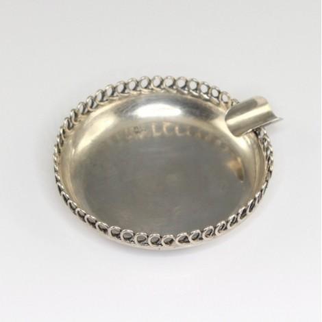 scrumiera solitaire - argint 925 - atelier sovietic - Rusia