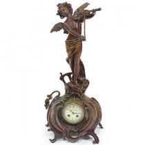 ceas de semineu Art Nouveau - cca 1900 - atelier Marti Fritz - Franta