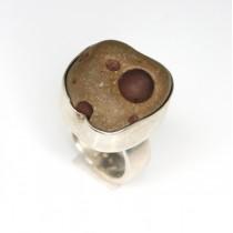 "Spectaculos inel modernist scandinav "" Space Age "" | meteorit | Finlanda anii ' 60"
