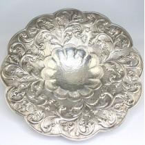 somptuoasa fructiera romaneasca, din argint. cca 1955