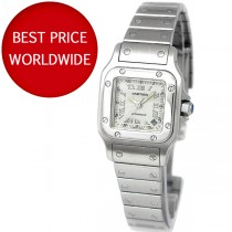 ceas de dama Cartier Santos de Galbee - Automatic -Stainless Steel - W20044D6