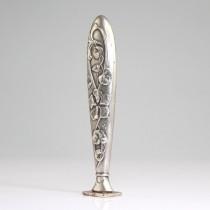 sigiliu Art Nouveau - metal argintat - Franta cca 1880