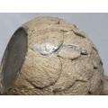 Spectaculoasă veioză ceramică, design contemporan   artist Ruth Duckworth   1986