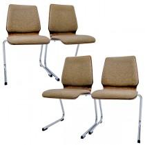 set scaune cantilever - design neo-futurist - Wiesner Hager anii '70