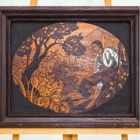 vechi tablou - Renascimento Marquentry - lucrare semnată
