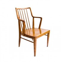 elegant scaun scandinav anii '30 - lemn de tec -  Danemarca