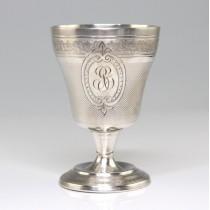 pocal miniatural din argint - Kiddush - atelier francez - cca 1930