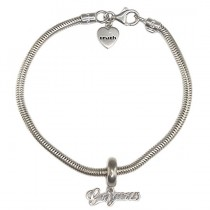 bratara Truth cu charm - Gorgeous - argint - Marea Britanie