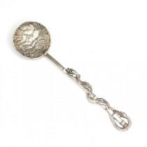 RAR : rafinata lingurita japoneza - argint pur - Meiji cca 1900