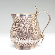 Rafinata letiera din argint | Kashmiri | British Raj cca 1900