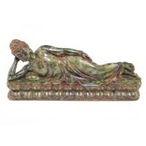 Superbă statuetă - Nirvana Buddha - bachelită plaskon - cca 1930