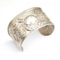 Inedită brățară din argint - Monde de la Mer - manufactură unicat - Franța