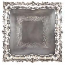 Tavă-platou pentru aperitive, din argint | Neo-baroc | atelier spaniol. cca. 1940