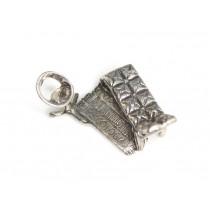Inedită miniatură din argint - La psiholog - manufactură de atelier italian