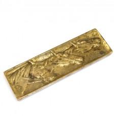 Tăviță vide-poche pentru instrumente de scris - bronz  doré - Franța cca.1920