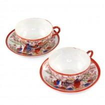 Garnitura tête-à-tête pentru servirea ceaiului - anii '40  Japonia