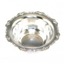Bol din argint - design in maniera neoclasica- manufactura de atelier italian - cca.1950