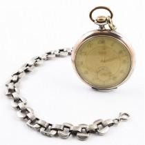 Ceas de buzunar Art Deco | Siduna Prima | Argint |  Ancre Chronometer cca.1930