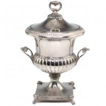 Elegantă bombonieră Neoclasică din argint | atelier Giannelli Giannino | cca.1940 - Italia