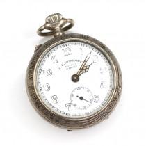 Ceas de buzunar F.E. Roskopf patent 18632 | Montre Chemin de Fer | cca.1920