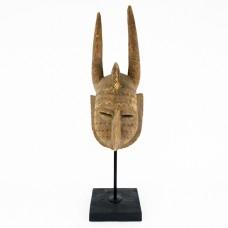 Impresionantă mască ceremonială Bamana   Kore   Mali - început de secol XX