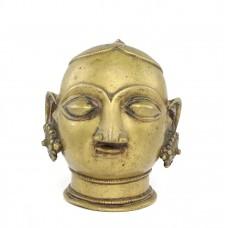 Veche statuetă hindusă |  Gauri - Parvati | alamă | India - secol XIX