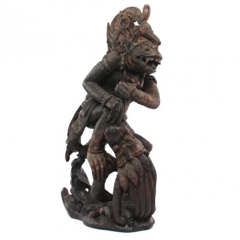 Spectaculoasă statuetă balineză | Dewa Ruci | lemn de abanos