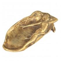 Vide-poche Art Nouveau | manufactură în bronz | Franţa cca. 1880 - 1900