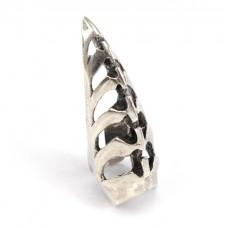 Inel statement | Gheară | manufactură în argint | Japonia - design comtemporan