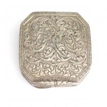Rafinată cutiuță din argint | atelier napoletan, Asad Ventrella | cca. 1900