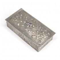 Elegantă cutiuță spaniolă, pentru medicamente și suveniruri | argint | anii '30