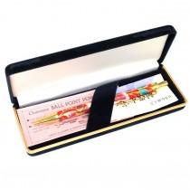 Elegant pix ballpoint japonez | cloisonné shippo | Nou, în cutia originală