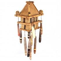 RAR : Vechi clopoței de vânt realizați din ceramică japoneză Raku | Fusui | cca.1940
