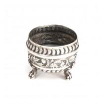 Rafinată solniță din argint | manufactură de atelier Elisa Egalon | cca.1890 - Franța