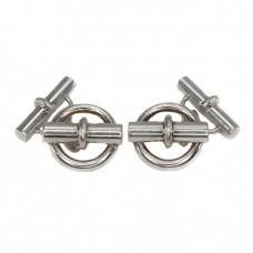 Butoni Hermes Paris |  Chaîne d'ancre XL | argint | anii 2000