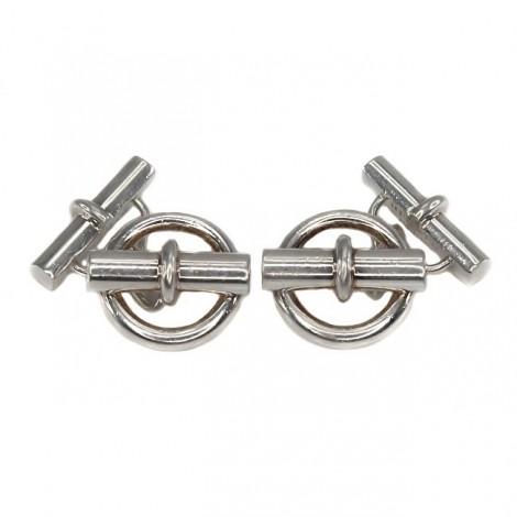 Butoni din argint Hermes Paris |  Chaîne d'ancre XL |  anii 2000