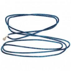 "Spectacular colier fashion "" Electric blue "" | titan anodizat | design LOL Roma | anii 2000"