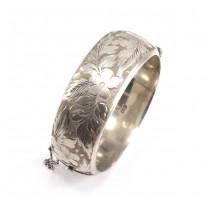 Impresionantă brățară din argint, Victorian Revival | atelier Ronex | Birmingham 1966