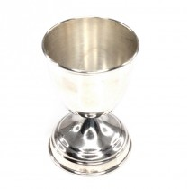 Delicat pahar din argint pentru copii \ suport pentru ou fiert   Italia   anii '50