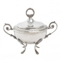 Zaharniță din argint în stil neoclasic | Roman Revival | manufactură de atelier piemontez | anii '50