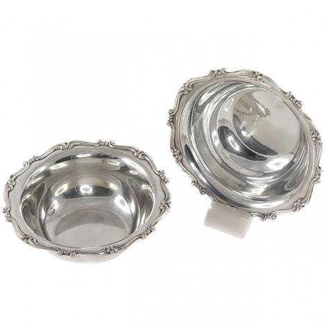 Set format din 2 boluri din argint | atelier Antonio Giacche | cca.1940 | Italia
