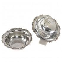 Set de două  boluri din argint | atelier Antonio Giacche | anii '40 | Italia
