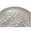 Vechi platou egiptean, manufacturat în argint | Isis și Osiris | cca.1950
