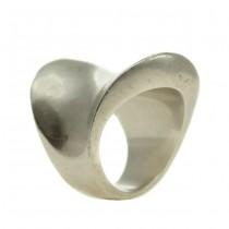Impresionant inel statement Futurist| manufactură în argint | Italia