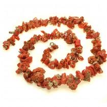 Opulent colier de coral antic natural | cca.1960  | Italia