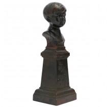 F. RAR: Statuetă Regele Mihai I, copil, piesă foarte rară. cca. 1927