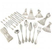 """Set de tacâmuri din argint 925, 54 piese, model """"Embajador"""", atelier Dalia, Madrid"""