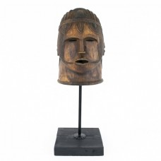 RAR : Impresionantă mască tribală Igala | Egwu | început de secol XX