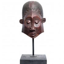 Impresionantă mască tribală Lulua | Congo | început de secol XX