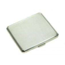 Tabacheră din argint, pentru țigări rulate manual | Art Deco | manufactură de atelier românesc | anii '30